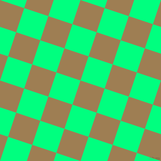 72/162 degree angle diagonal checkered chequered squares checker pattern checkers background, 82 pixel squares size, , Muesli and Spring Green checkers chequered checkered squares seamless tileable