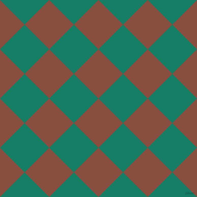 45/135 degree angle diagonal checkered chequered squares checker pattern checkers background, 137 pixel square size, , Mule Fawn and Deep Sea checkers chequered checkered squares seamless tileable