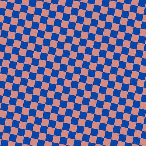 79/169 degree angle diagonal checkered chequered squares checker pattern checkers background, 23 pixel square size, , My Pink and Cobalt checkers chequered checkered squares seamless tileable