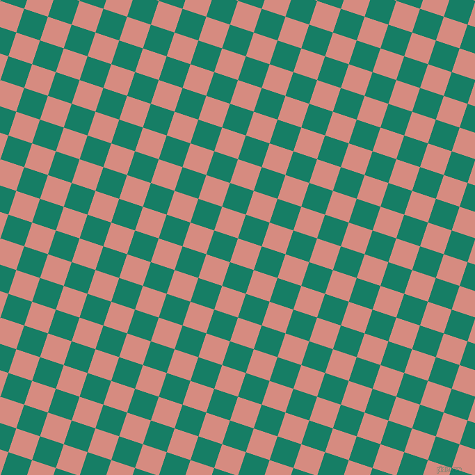 72/162 degree angle diagonal checkered chequered squares checker pattern checkers background, 36 pixel squares size, , My Pink and Deep Sea checkers chequered checkered squares seamless tileable