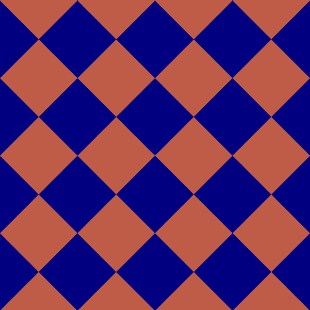 45/135 degree angle diagonal checkered chequered squares checker pattern checkers background, 113 pixel squares size, , Navy and Flame Pea checkers chequered checkered squares seamless tileable