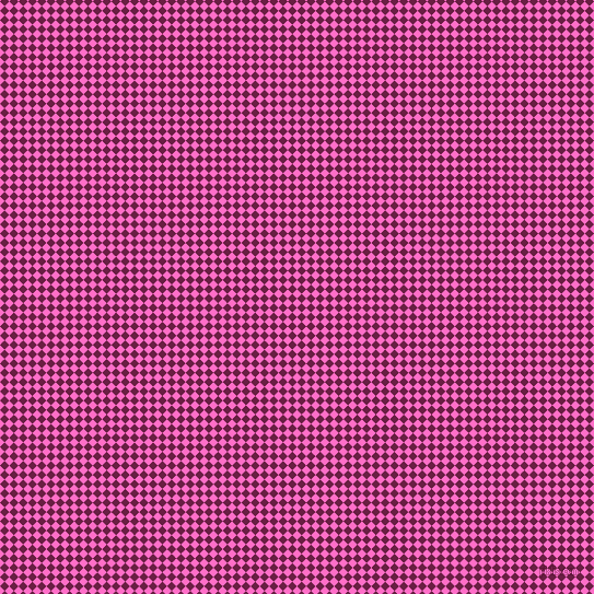 45/135 degree angle diagonal checkered chequered squares checker pattern checkers background, 6 pixel squares size, , Neon Pink and Pompadour checkers chequered checkered squares seamless tileable