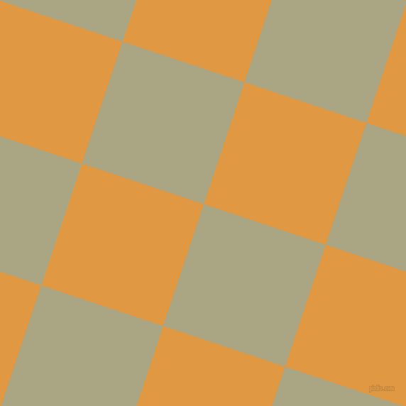 72/162 degree angle diagonal checkered chequered squares checker pattern checkers background, 181 pixel squares size, Neutral Green and Fire Bush checkers chequered checkered squares seamless tileable