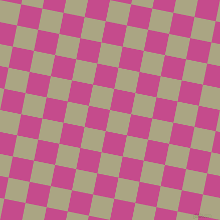 79/169 degree angle diagonal checkered chequered squares checker pattern checkers background, 43 pixel squares size, , Neutral Green and Mulberry checkers chequered checkered squares seamless tileable