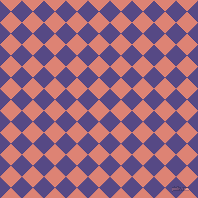 45/135 degree angle diagonal checkered chequered squares checker pattern checkers background, 32 pixel square size, , New York Pink and Victoria checkers chequered checkered squares seamless tileable