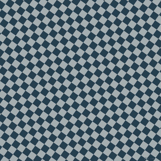 55/145 degree angle diagonal checkered chequered squares checker pattern checkers background, 22 pixel squares size, , Nile Blue and Gull Grey checkers chequered checkered squares seamless tileable