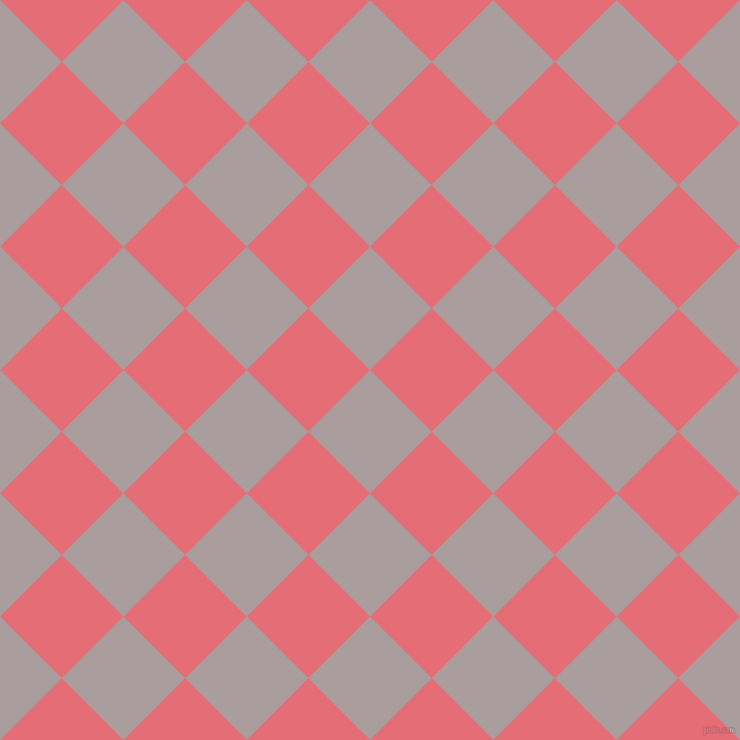 45/135 degree angle diagonal checkered chequered squares checker pattern checkers background, 96 pixel squares size, , Nobel and Froly checkers chequered checkered squares seamless tileable