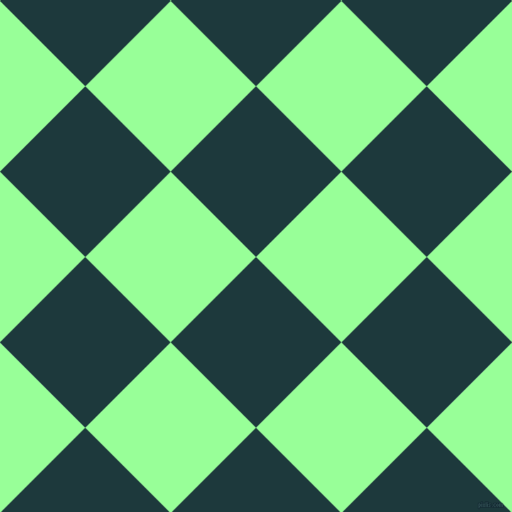 45/135 degree angle diagonal checkered chequered squares checker pattern checkers background, 170 pixel squares size, , Nordic and Mint Green checkers chequered checkered squares seamless tileable