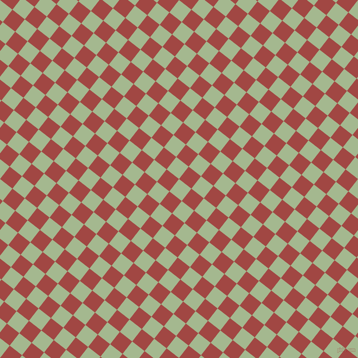 52/142 degree angle diagonal checkered chequered squares checker pattern checkers background, 31 pixel squares size, , Norway and Roof Terracotta checkers chequered checkered squares seamless tileable