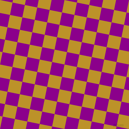 79/169 degree angle diagonal checkered chequered squares checker pattern checkers background, 44 pixel square size, , Nugget and Dark Magenta checkers chequered checkered squares seamless tileable