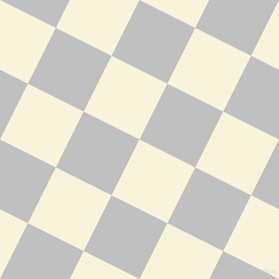 63/153 degree angle diagonal checkered chequered squares checker pattern checkers background, 127 pixel squares size, Off Yellow and Silver checkers chequered checkered squares seamless tileable