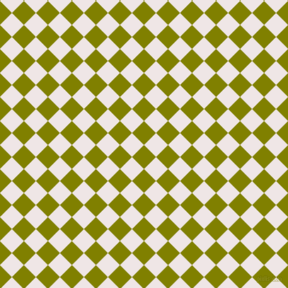 45/135 degree angle diagonal checkered chequered squares checker pattern checkers background, 24 pixel square size, , Olive and Whisper checkers chequered checkered squares seamless tileable