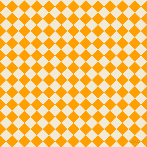 45/135 degree angle diagonal checkered chequered squares checker pattern checkers background, 28 pixel square size, , Orange Peel and Half Pearl Lusta checkers chequered checkered squares seamless tileable
