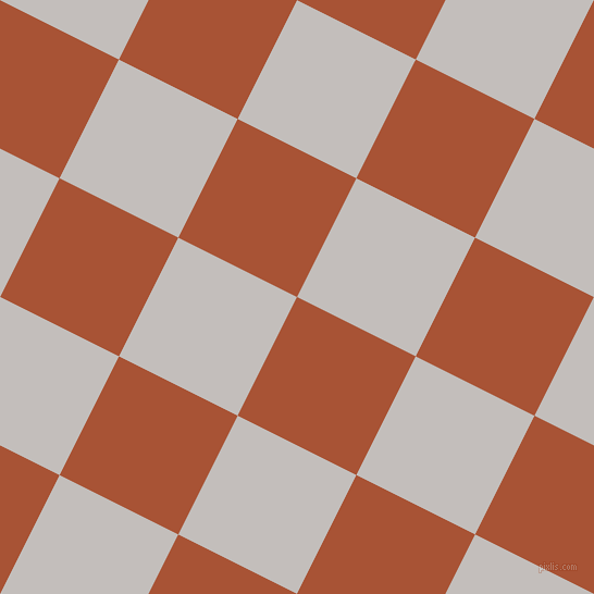 63/153 degree angle diagonal checkered chequered squares checker pattern checkers background, 122 pixel squares size, , Orange Roughy and Pale Slate checkers chequered checkered squares seamless tileable