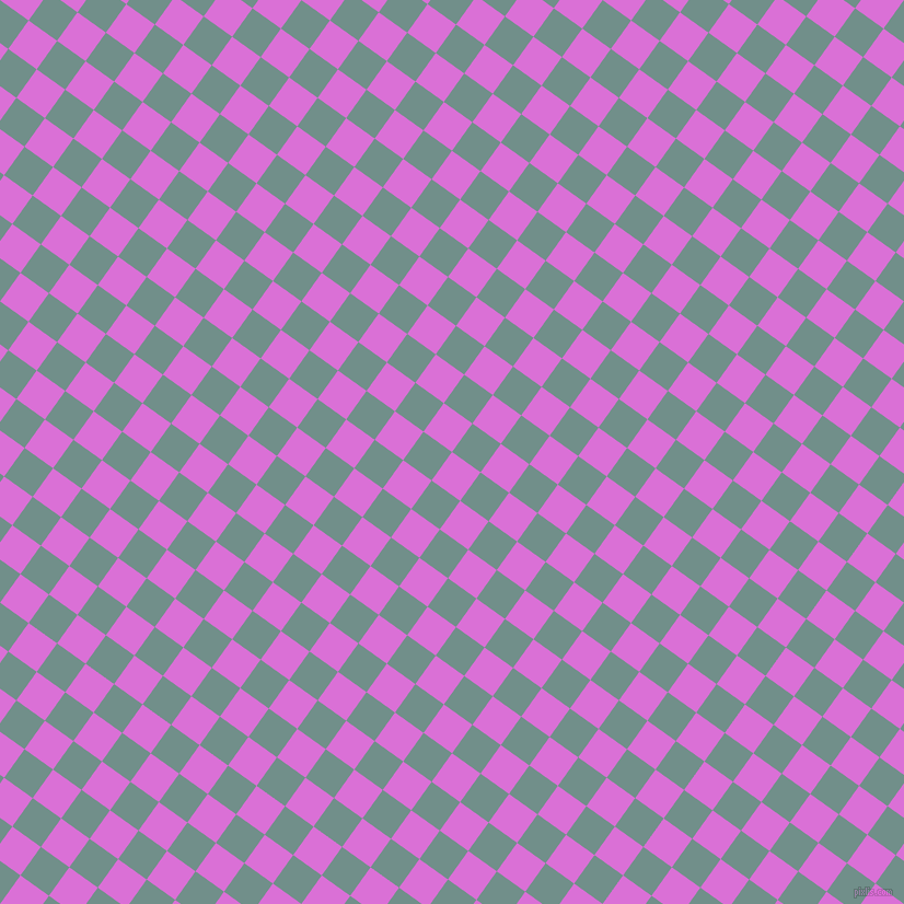 54/144 degree angle diagonal checkered chequered squares checker pattern checkers background, 32 pixel squares size, , Orchid and Gumbo checkers chequered checkered squares seamless tileable