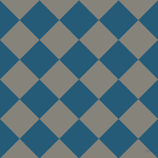 45/135 degree angle diagonal checkered chequered squares checker pattern checkers background, 89 pixel square size, , Orient and Friar Grey checkers chequered checkered squares seamless tileable