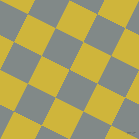 63/153 degree angle diagonal checkered chequered squares checker pattern checkers background, 125 pixel square size, , Oslo Grey and Old Gold checkers chequered checkered squares seamless tileable