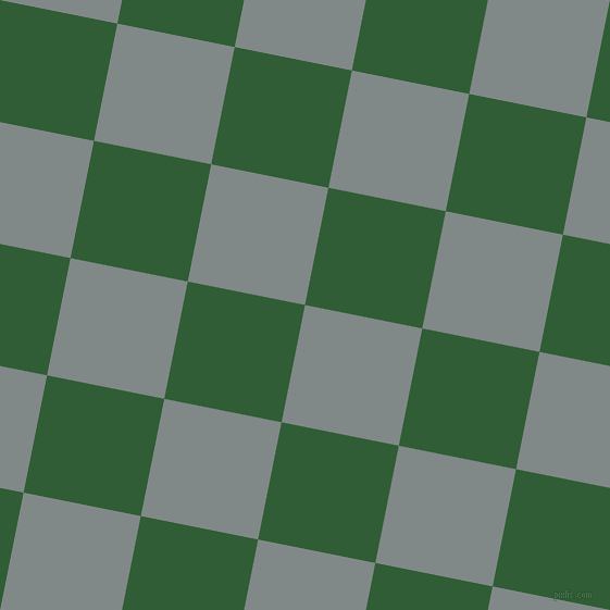 79/169 degree angle diagonal checkered chequered squares checker pattern checkers background, 110 pixel squares size, , Oslo Grey and Parsley checkers chequered checkered squares seamless tileable