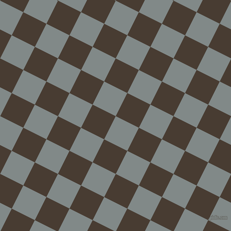 63/153 degree angle diagonal checkered chequered squares checker pattern checkers background, 52 pixel squares size, , Oslo Grey and Taupe checkers chequered checkered squares seamless tileable