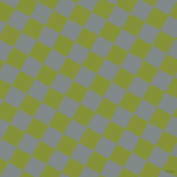 61/151 degree angle diagonal checkered chequered squares checker pattern checkers background, 69 pixel squares size, , Oslo Grey and Wasabi checkers chequered checkered squares seamless tileable