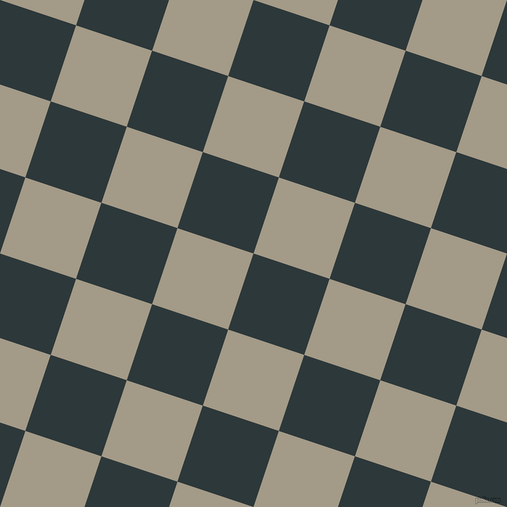 72/162 degree angle diagonal checkered chequered squares checker pattern checkers background, 114 pixel squares size, Outer Space and Napa checkers chequered checkered squares seamless tileable