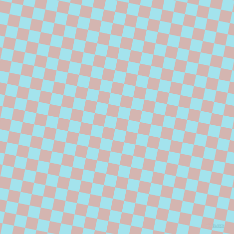 79/169 degree angle diagonal checkered chequered squares checker pattern checkers background, 23 pixel squares size, , Oyster Pink and Blizzard Blue checkers chequered checkered squares seamless tileable