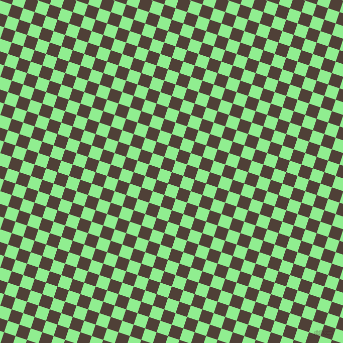 72/162 degree angle diagonal checkered chequered squares checker pattern checkers background, 24 pixel square size, , Paco and Light Green checkers chequered checkered squares seamless tileable