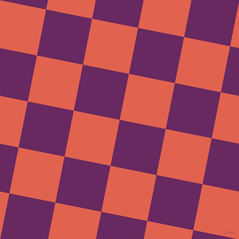 79/169 degree angle diagonal checkered chequered squares checker pattern checkers background, 164 pixel squares size, , Palatinate Purple and Flamingo checkers chequered checkered squares seamless tileable