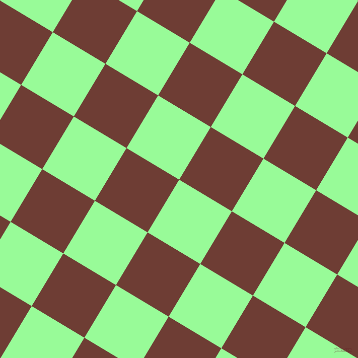 59/149 degree angle diagonal checkered chequered squares checker pattern checkers background, 122 pixel squares size, , Pale Green and Metallic Copper checkers chequered checkered squares seamless tileable