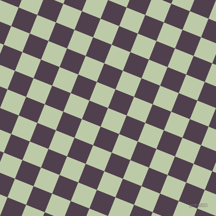 68/158 degree angle diagonal checkered chequered squares checker pattern checkers background, 40 pixel squares size, , Pale Leaf and Purple Taupe checkers chequered checkered squares seamless tileable