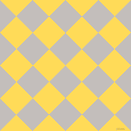 45/135 degree angle diagonal checkered chequered squares checker pattern checkers background, 88 pixel square size, , Pale Slate and Mustard checkers chequered checkered squares seamless tileable