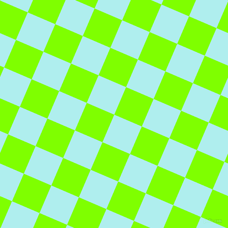 67/157 degree angle diagonal checkered chequered squares checker pattern checkers background, 59 pixel squares size, , Pale Turquoise and Chartreuse checkers chequered checkered squares seamless tileable