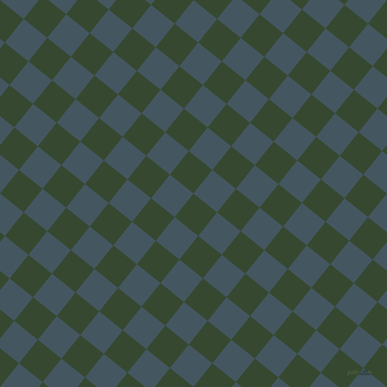 51/141 degree angle diagonal checkered chequered squares checker pattern checkers background, 43 pixel square size, , Palm Leaf and San Juan checkers chequered checkered squares seamless tileable