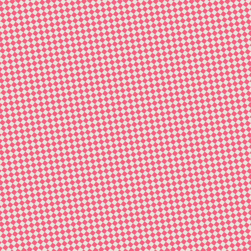 54/144 degree angle diagonal checkered chequered squares checker pattern checkers background, 14 pixel square size, , Pampas and Brink Pink checkers chequered checkered squares seamless tileable