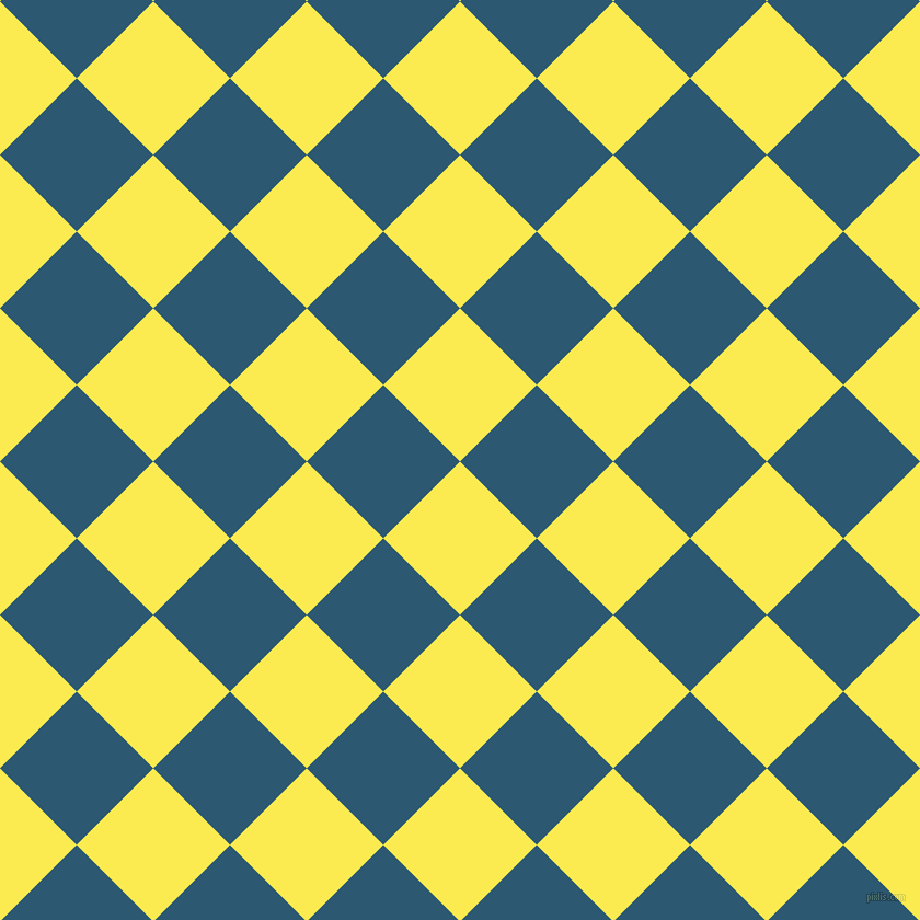 45/135 degree angle diagonal checkered chequered squares checker pattern checkers background, 99 pixel squares size, , Paris Daisy and Chathams Blue checkers chequered checkered squares seamless tileable