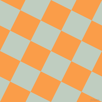 63/153 degree angle diagonal checkered chequered squares checker pattern checkers background, 91 pixel squares size, , Paris White and Sunshade checkers chequered checkered squares seamless tileable
