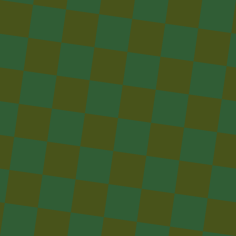82/172 degree angle diagonal checkered chequered squares checker pattern checkers background, 112 pixel square size, , Parsley and Verdun Green checkers chequered checkered squares seamless tileable