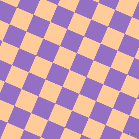 67/157 degree angle diagonal checkered chequered squares checker pattern checkers background, 64 pixel squares size, , Peach-Orange and Lilac Bush checkers chequered checkered squares seamless tileable