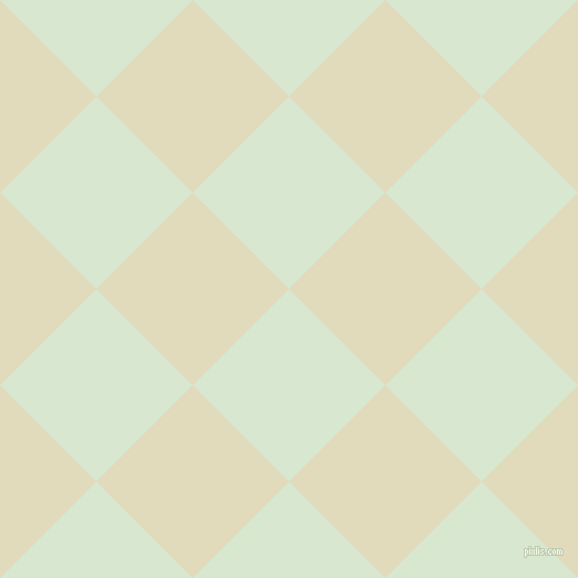 45/135 degree angle diagonal checkered chequered squares checker pattern checkers background, 123 pixel square size, , Peppermint and Coconut Cream checkers chequered checkered squares seamless tileable