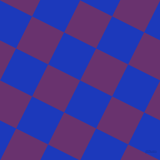 63/153 degree angle diagonal checkered chequered squares checker pattern checkers background, 115 pixel squares size, , Persian Blue and Seance checkers chequered checkered squares seamless tileable