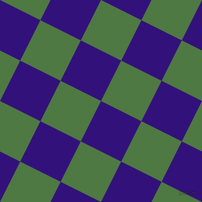 63/153 degree angle diagonal checkered chequered squares checker pattern checkers background, 91 pixel square size, , Persian Indigo and Fern Green checkers chequered checkered squares seamless tileable