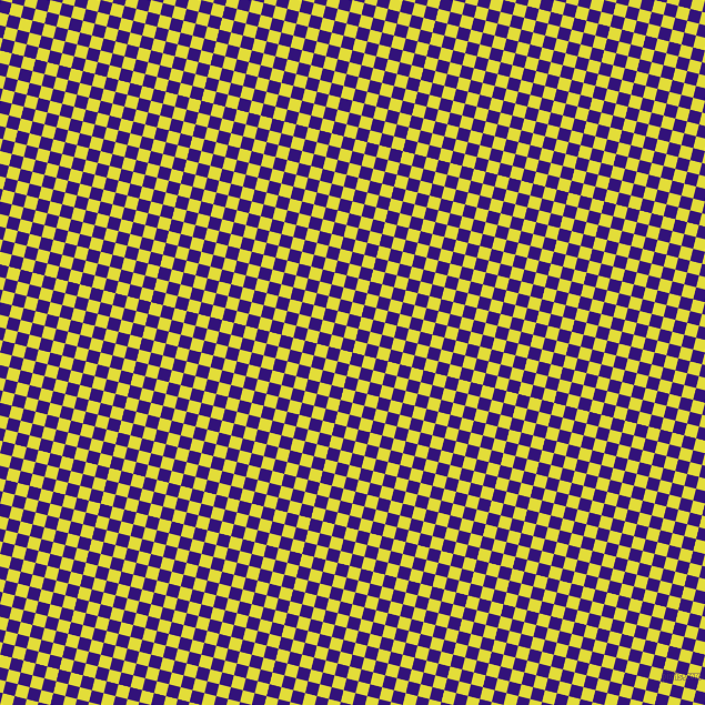 76/166 degree angle diagonal checkered chequered squares checker pattern checkers background, 11 pixel square size, , Persian Indigo and Starship checkers chequered checkered squares seamless tileable