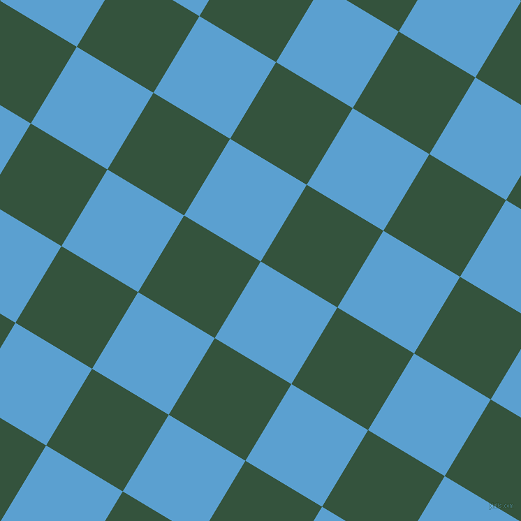 59/149 degree angle diagonal checkered chequered squares checker pattern checkers background, 128 pixel squares size, , Picton Blue and Goblin checkers chequered checkered squares seamless tileable