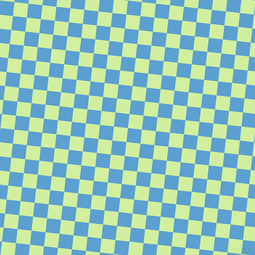 84/174 degree angle diagonal checkered chequered squares checker pattern checkers background, 28 pixel squares size, , Picton Blue and Reef checkers chequered checkered squares seamless tileable