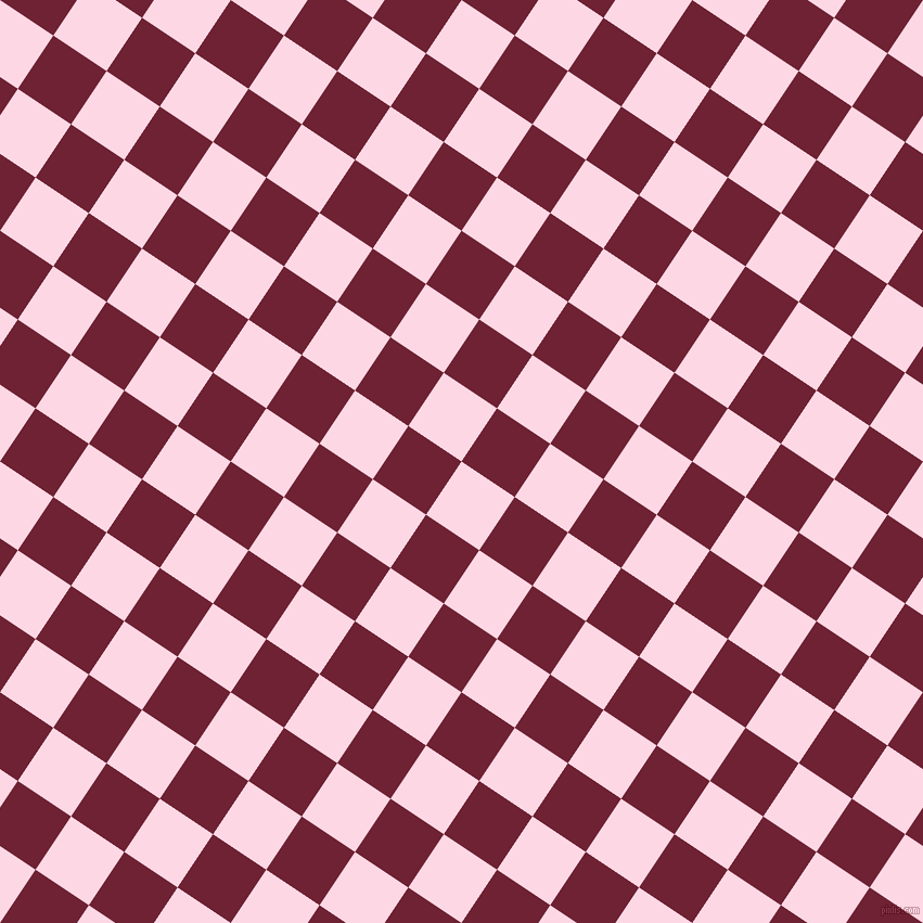 56/146 degree angle diagonal checkered chequered squares checker pattern checkers background, 59 pixel squares size, , Pig Pink and Claret checkers chequered checkered squares seamless tileable