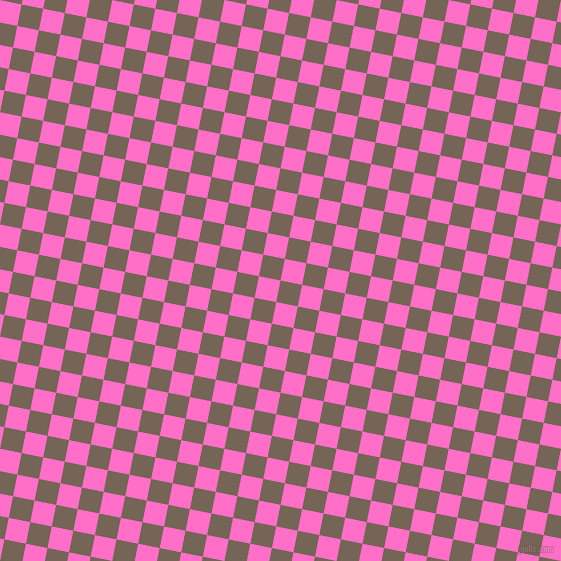 79/169 degree angle diagonal checkered chequered squares checker pattern checkers background, 22 pixel squares size, , Pine Cone and Neon Pink checkers chequered checkered squares seamless tileable