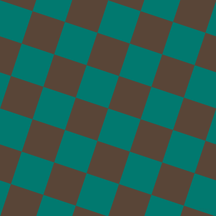 72/162 degree angle diagonal checkered chequered squares checker pattern checkers background, 109 pixel square size, , Pine Green and Brown Derby checkers chequered checkered squares seamless tileable