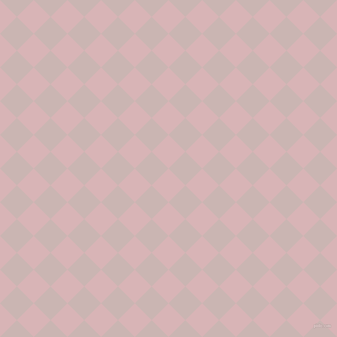 45/135 degree angle diagonal checkered chequered squares checker pattern checkers background, 49 pixel squares size, , Pink Flare and Cold Turkey checkers chequered checkered squares seamless tileable