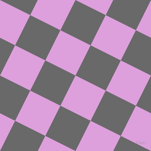 63/153 degree angle diagonal checkered chequered squares checker pattern checkers background, 110 pixel square size, , Plum and Dim Gray checkers chequered checkered squares seamless tileable