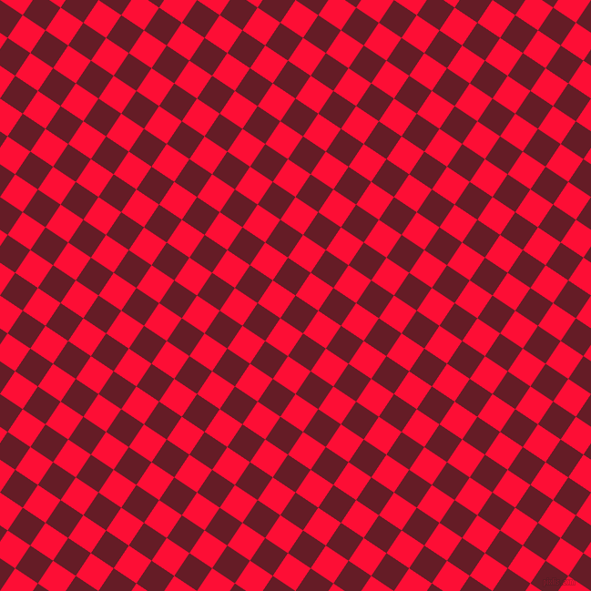 56/146 degree angle diagonal checkered chequered squares checker pattern checkers background, 30 pixel squares size, , Pohutukawa and Torch Red checkers chequered checkered squares seamless tileable